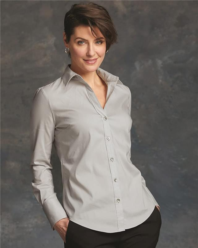 Women's Cotton Stretch Shirt