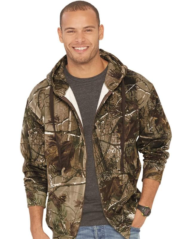 Adult Realtree® Camo Zip Fleece Hoodie