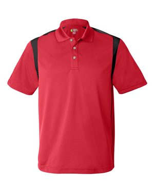 Performance Sport Shirt with Contrast Color Inserts