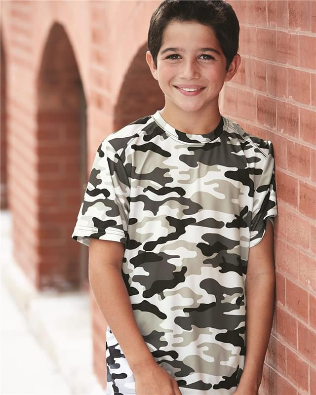 Camo Youth Short Sleeve T-Shirt