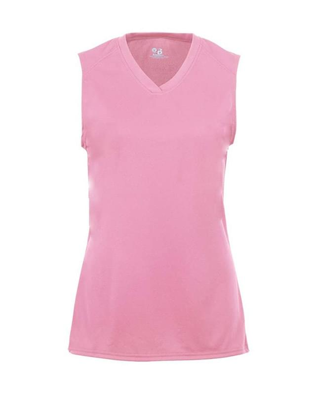 Girls' B-Core Sleeveless T-Shirt