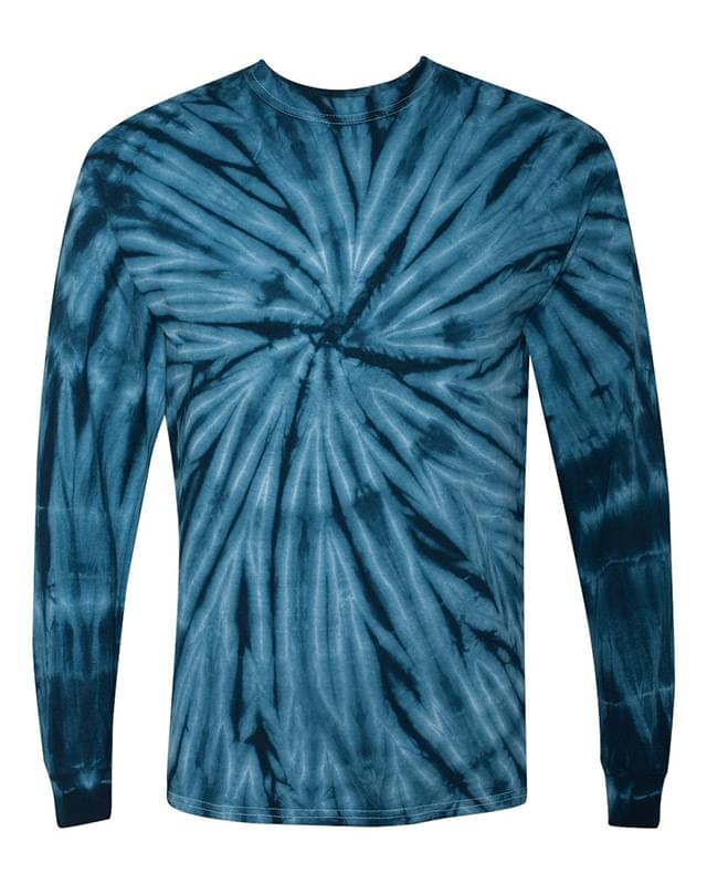 Cyclone Vat-Dyed Pinwheel Long Sleeve T-Shirt