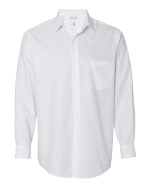 Long Sleeve Pique Dress Shirt