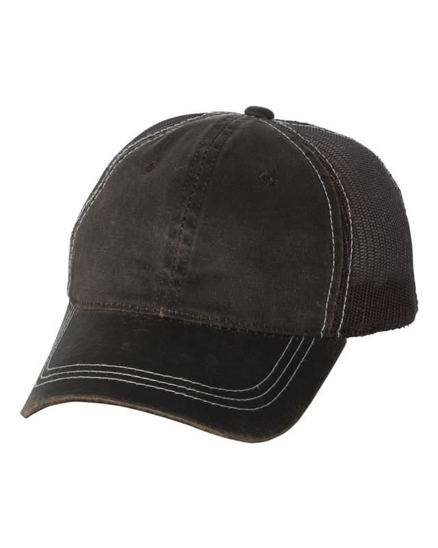 Weathered Mesh Back Cap