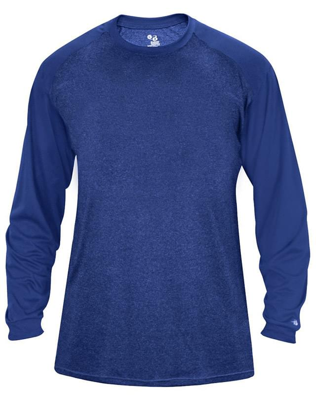 Tonal Sport Heather L/S T-Shirt