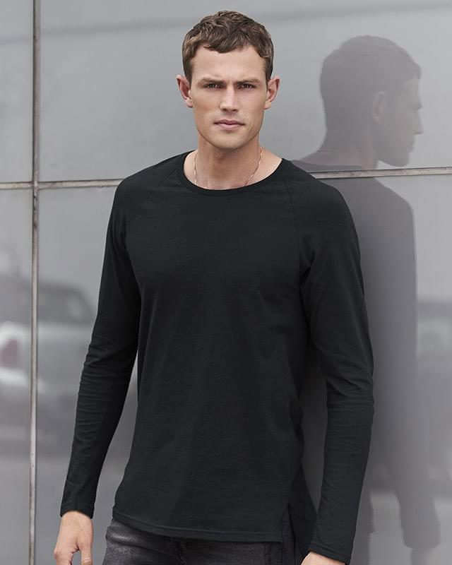 Long Sleeve Lightweight Long and Lean Raglan T-Shirt