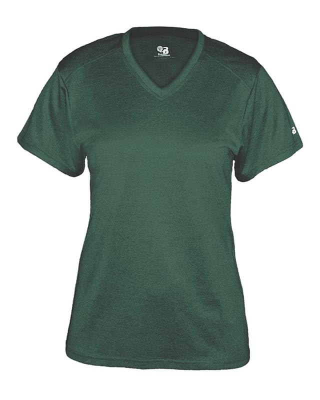 Pro Women's Heather V-Neck T-Shirt