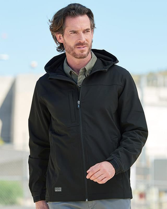 Apex Hooded Soft Shell Jacket