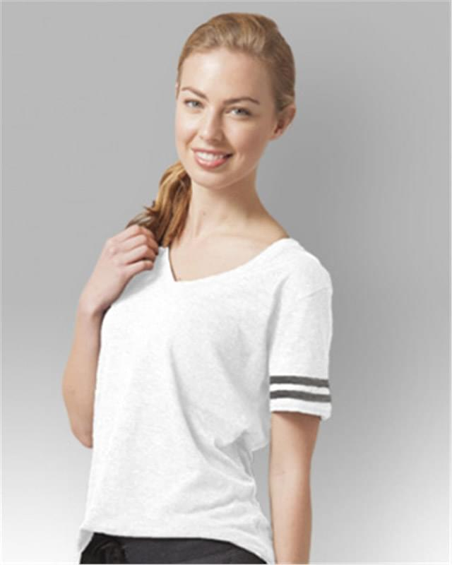 Women's Sporty Slub T-Shirt