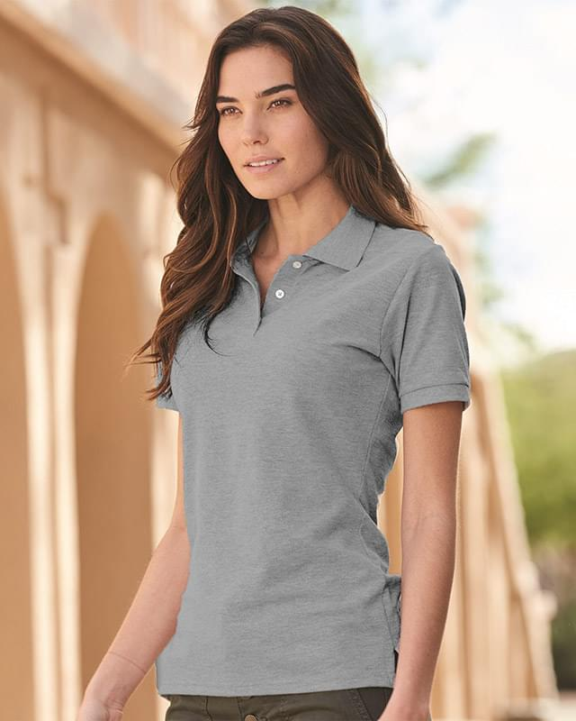 Women's 100% Ringspun Cotton Pique Sport Shirt