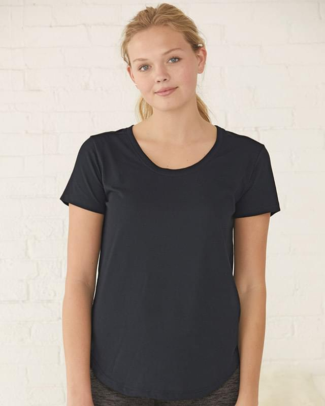 Women's At Ease Scoopneck Tee