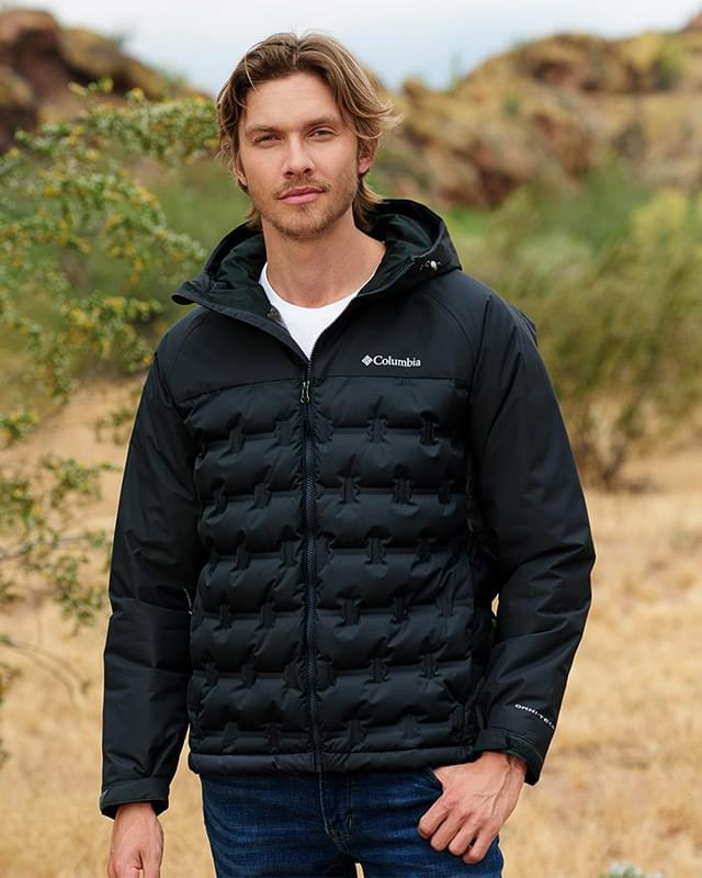 Grand Trek Hooded Down Jacket