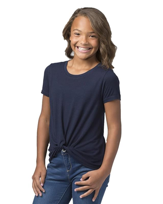 Girls' Twisted T-Shirt
