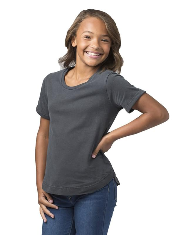 Girls' Vintage Cuff T-Shirt