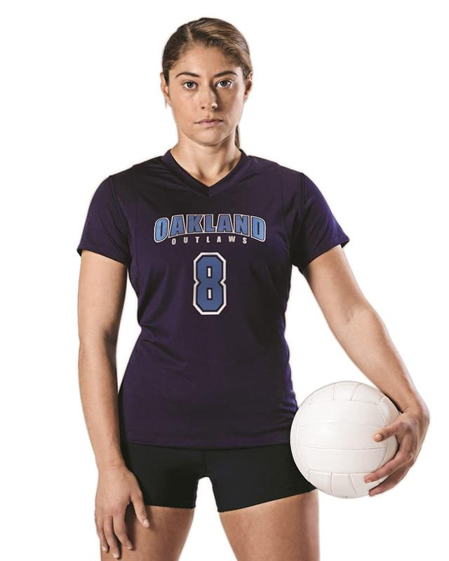 Women's Short Sleeve Volleyball Jersey