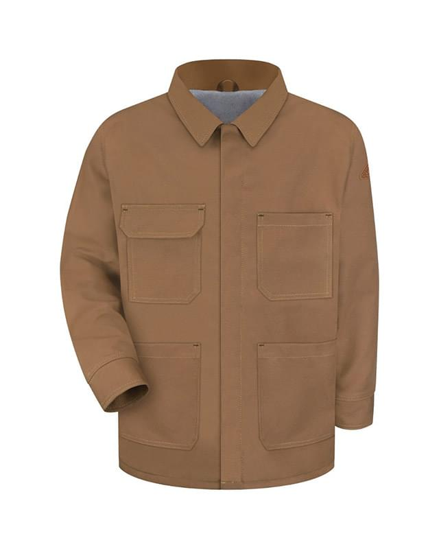 Brown Duck Lineman's Coat - EXCEL FR® ComforTouch® - Long Sizes