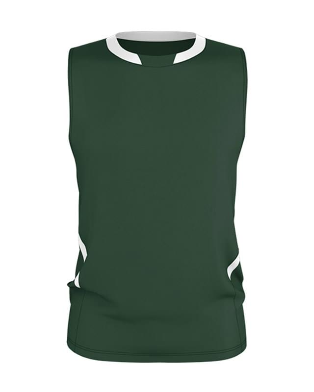 Cut Block Sleeveless Volleyball Jersey