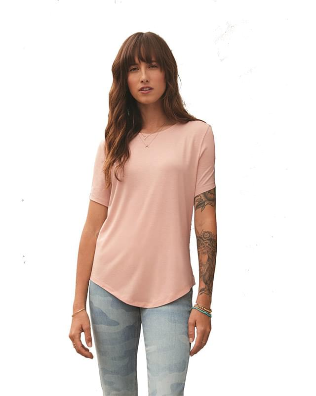 Women's Relaxed Modal Stretch T-Shirt