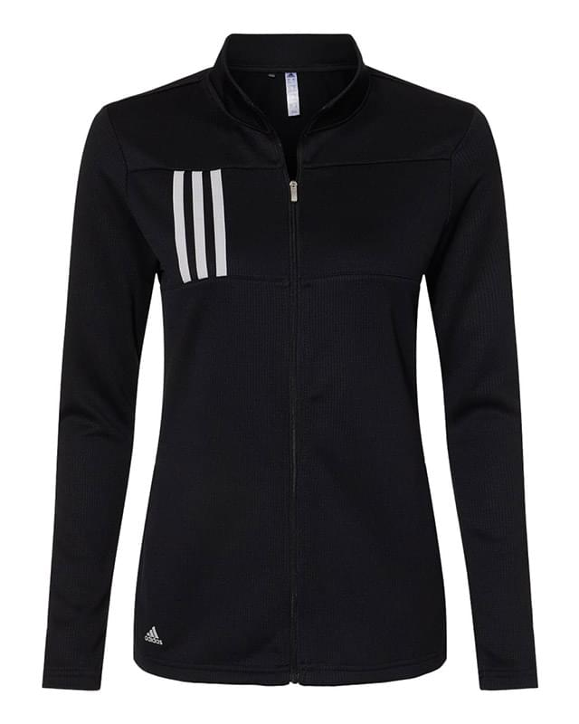 Women's 3-Stripes Double Knit Full-Zip