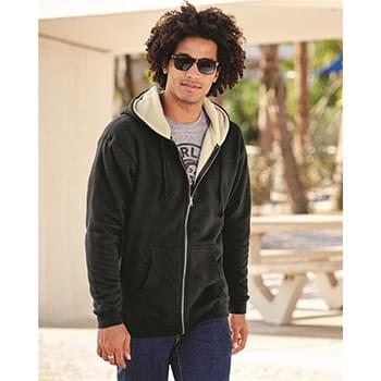 Sherpa Lined Full-Zip Hooded Sweatshirt