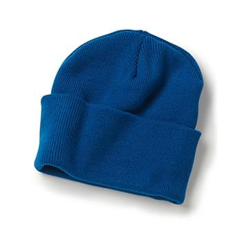 "USA-Made 12"" Knit Beanie"