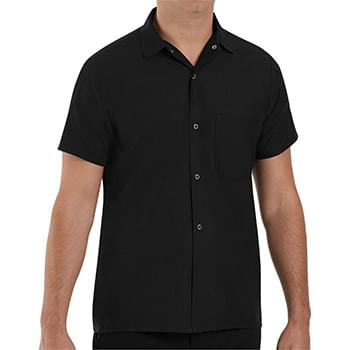 Poplin Cook Shirt with Gripper Closures