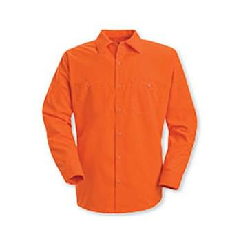 Enhanced Visibility Long Sleeve Work Shirt