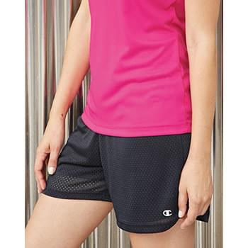 Women's Tagless Active Mesh Shorts