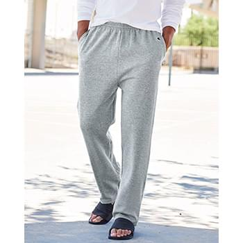 Double Dry Eco Open Bottom Sweatpants with Pockets