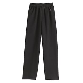 Double Dry Eco Youth Open Bottom Sweatpants with Pockets