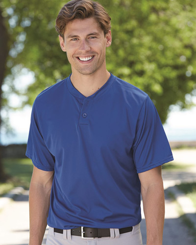 Performance Two-Button Henley