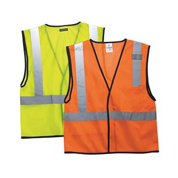 Economy One Pocket Mesh Vest