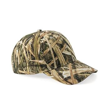 Licensed Camo Cap With Velcro