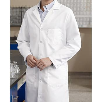 Button Front Lab Coat