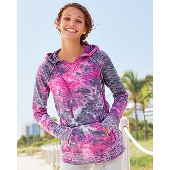 Women's Courtney Burnout V-Notch Sweatshirt