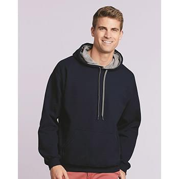 Heavy Blend Hooded Sweatshirt with Contrast Color Lining