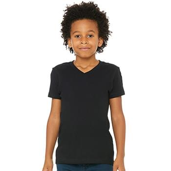 Youth V-Neck Jersey Tee