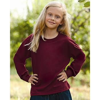 HD Cotton Youth Long Sleeve T-Shirt