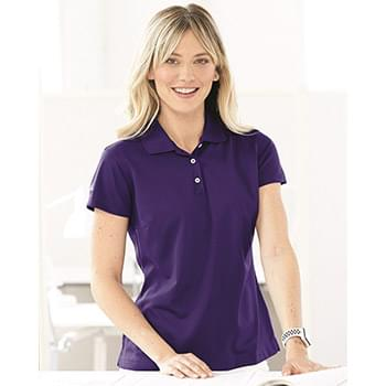 Adidas® Golf Women's ClimaLite® Basic Performance Pique Polo