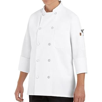 Women's Ten Button Chef Coat