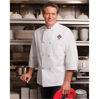 Three-Quarter Sleeve Chef Coat