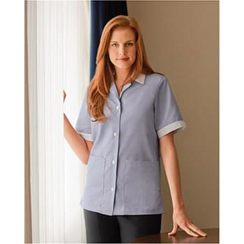 Women's Single-Breasted Lapel Tunic