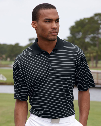 Golf ClimaLite® Pencil Striped Polo