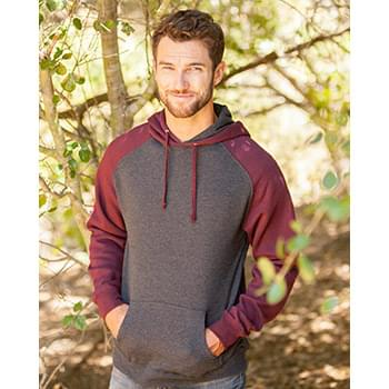 Raglan Hooded Pullover