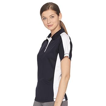 Women's Colorblocked Moisture Free Mesh Sport Shirt