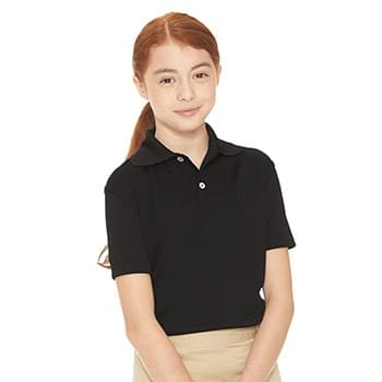 Youth Moisture Free Mesh Sport Shirt
