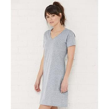 Women's V-Neck Fine Jersey Coverup