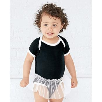 Infant Tutu Baby Rib Bodysuit