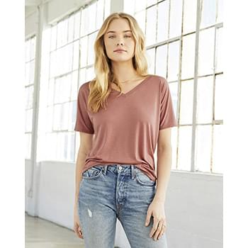 Women's Slouchy V-neck Tee
