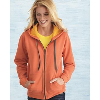 Heavy Blend™ Women's Vintage Full-Zip Hooded Sweatshirt